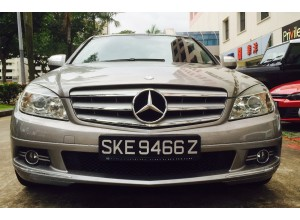 MERCEDES BENZ C180K(SOLD!)